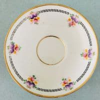Wild Bros -  Floral  Cup and Saucer Duos - 1920s